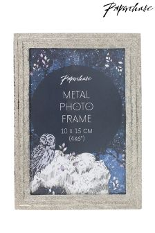 Paperchase Silver Frame 4x6 Indigo Nights Collection