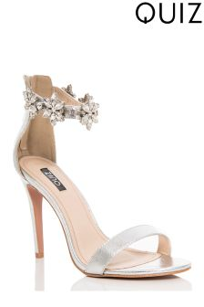 Quiz Barely There Heeled Sandals