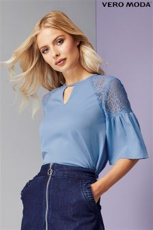 Vero Moda Lace Detail Top