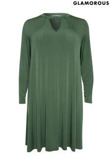 Sukienka shift Glamorous z wiązaniem pod szyją