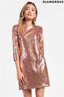 Glamorous Sequin Bodycon Dress