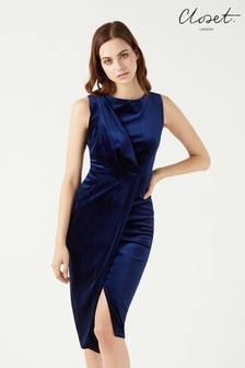 Closet Drape Front Wrap Dress
