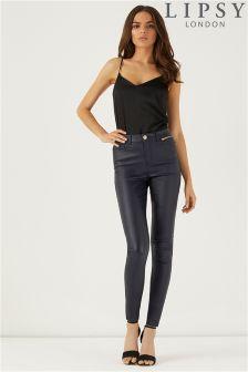 Lipsy Coated Skinny Jeans