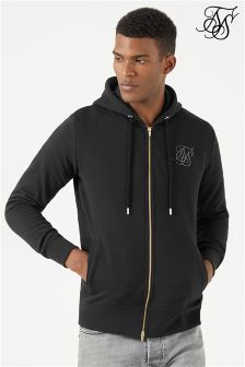Siksilk Zip Through Hoodie