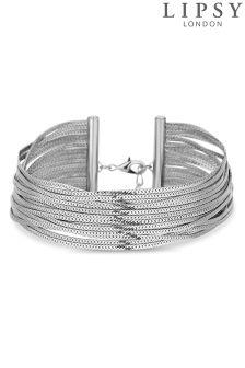 Lipsy Slinky Chain Multirow Choker