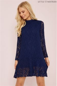Little Mistress Lace Shift Dress