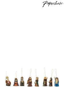 Paperchase Mini Navity Decorations Set of 8
