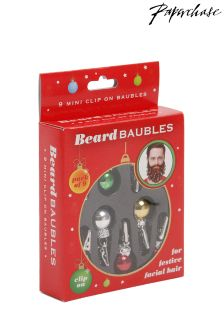 Paperchase Beard Baubles