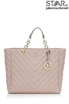 Star By Julien Macdonald Chevron Quilt Tote Bag