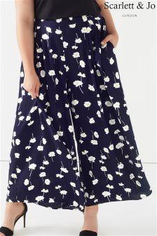 Scarlett & Jo Daisy Print Trousers