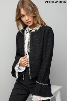 Vero Moda Jacket With Fluted Sleeve