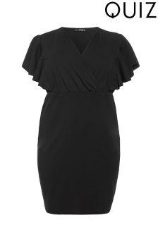 Quiz Curve Wrap Dress