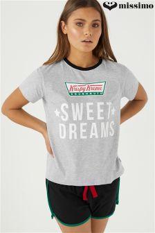 طقم بيجاما Krispy Kreme من Missimo