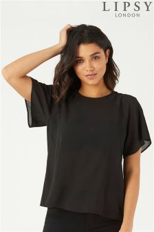Lipsy Criss Cross Shoulder Top