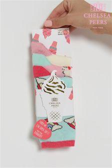 Chelsea Peers Rainbow Unicorn Socks Pack Of 3