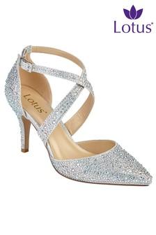 Lotus Heeled Dress Shoe