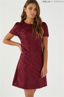 Mela London Rose Embossed Dress
