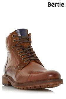 Bertie Toe Cap Lace Up Boots