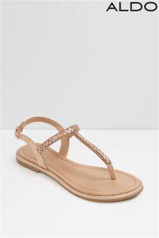 Aldo Metallic Sandal