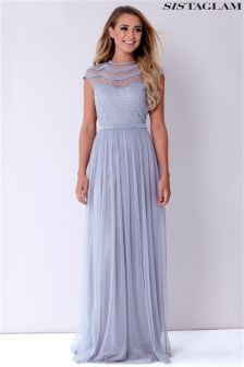 Sistaglam Maxi Beaded Dress