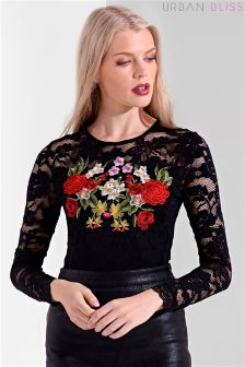 Urban Bliss Embroidered Bodysuit