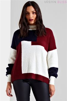 Sweter Urban Bliss Patchwork