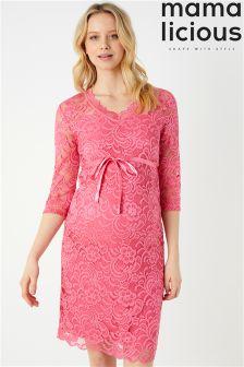 Dżersejowa sukienka dla kobiet w ciąży Mamalicious