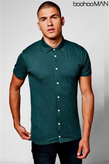 Boohoo Man Short Sleeve Jersey Shirt