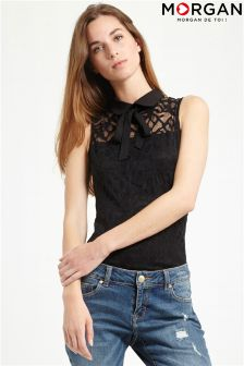 Morgan Lace Collar Vest