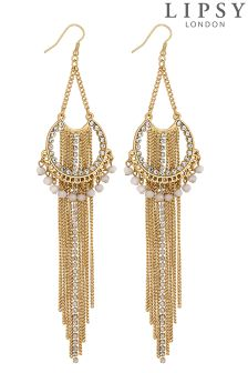Lipsy Layered Chain Drop Earring