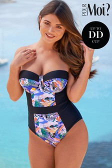 Pour Moi Halcyon Padded Underwired Swimsuit