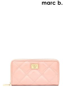 Marc B Double Zip Wallet