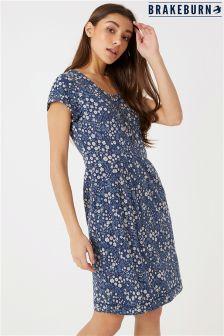 Luźna sukienka Brakeburn w motywy kwiatowe