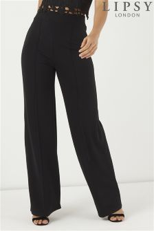 Lipsy Petite High Waisted Trousers