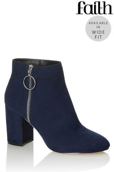 Faith Ring Detail Wide Fit Boot