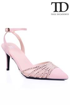 True Decadence Diamond Embellished Sandals