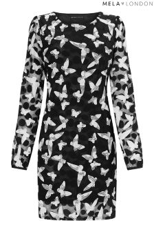 Mela London Butterfly Lace Tunic