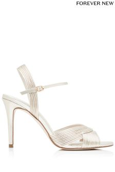 Forever New Piped Vamp Sandals