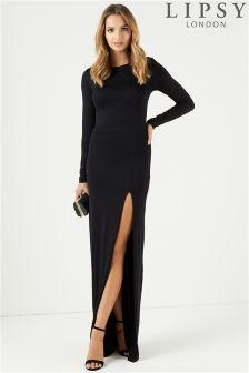 Lipsy Long Sleeve Maxi Dress