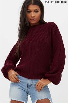PrettyLittleThing Crew Neck Knitted Jumper