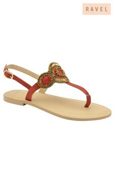 Ravel Embellished Flip Flops