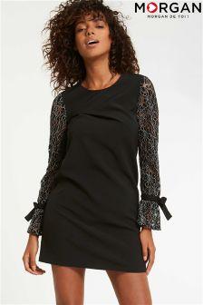 Кружевное цельнокройное платье Morgan