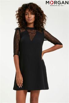 Morgan Lace Shift Dress