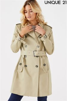 Unique 21 Lined Trench Coat