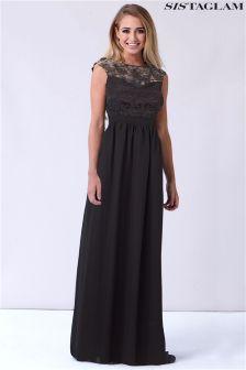 Sukienka koronkowa maxi Sistaglam