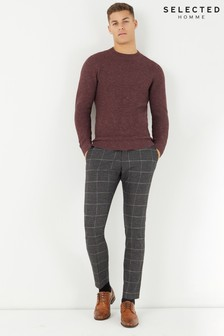 Selected Homme Check Trousers
