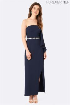 Forever New Waterfall Strapless Maxi