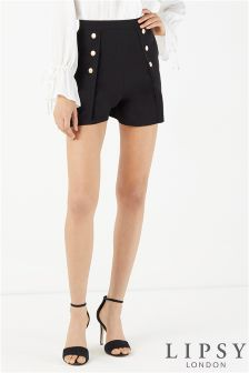 Lipsy Button Front Shorts