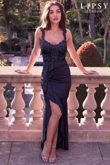 Lipsy Petite VIP Frill Skirt Maxi Dress