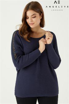 Sweter Angeleye Curve z ozdobnymi rękawami